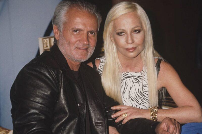 Gianni e Donatella Versace