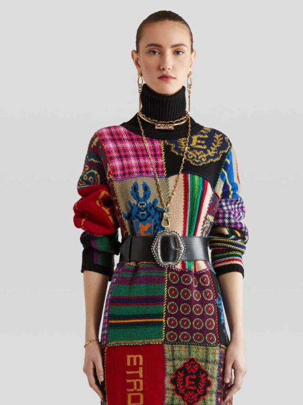 patchwork maglioni donna 2021