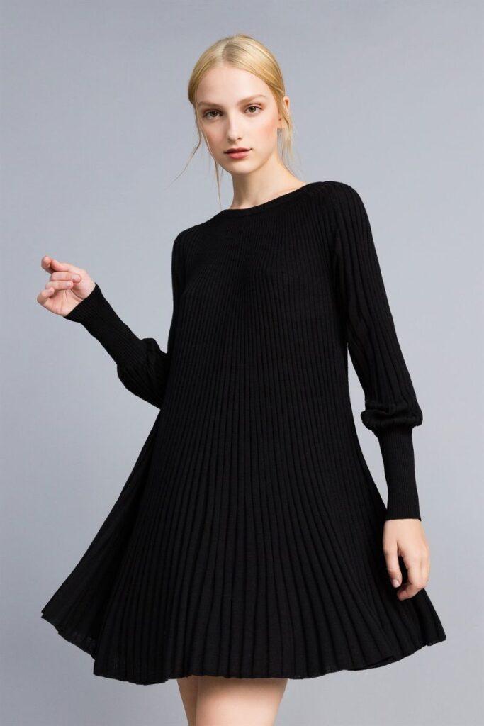 Abito a maglia - outfit sexy