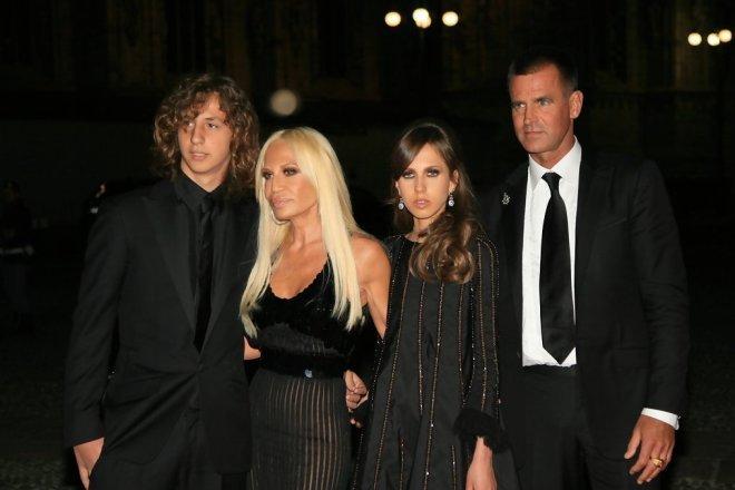 Famiglia Donatella Versace
