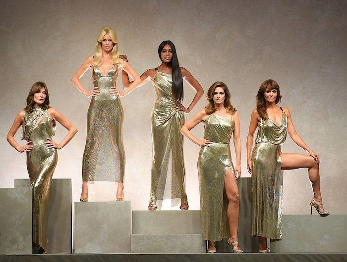 Modelle più famose negli anni 90