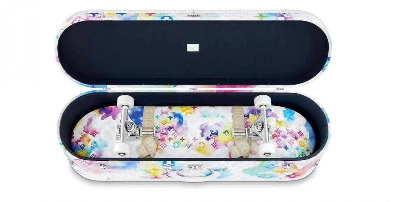 Skateboard set da 60.000 dollari per Louis Vuitton